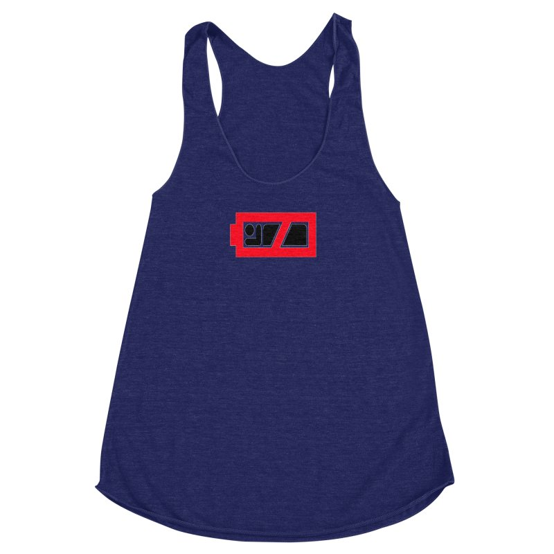No Sleep Women's Racerback Triblend Tank by Chicago Music's Apparel and Retail Shop