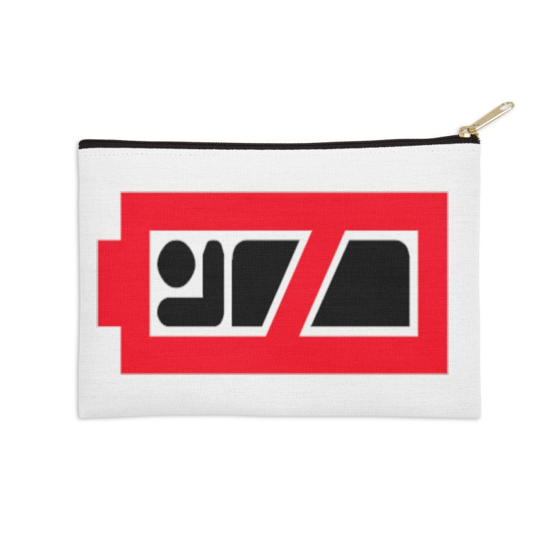 No Sleep Battery Accessories Zip Pouch by Chicago Music's Apparel and Retail Shop