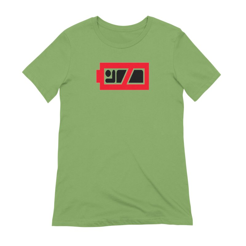 No Sleep Battery Women's Extra Soft T-Shirt by Chicago Music's Apparel and Retail Shop