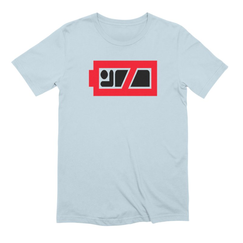 No Sleep Battery Men's Extra Soft T-Shirt by Chicago Music's Apparel and Retail Shop