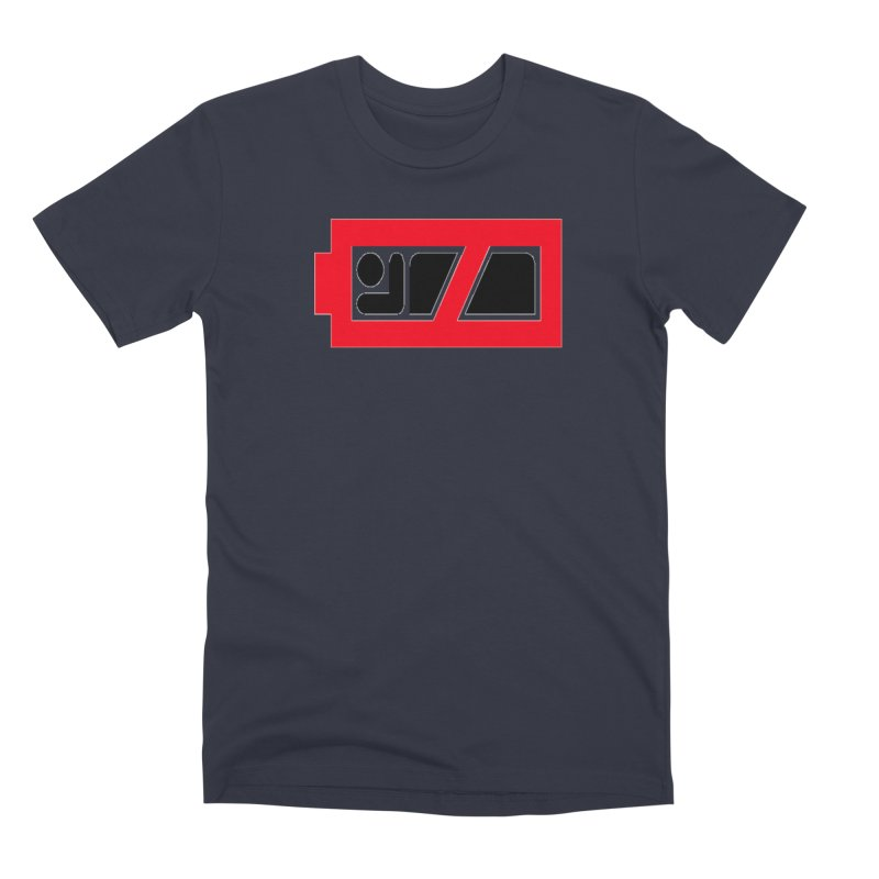 No Sleep Battery Men's Premium T-Shirt by Chicago Music's Apparel and Retail Shop