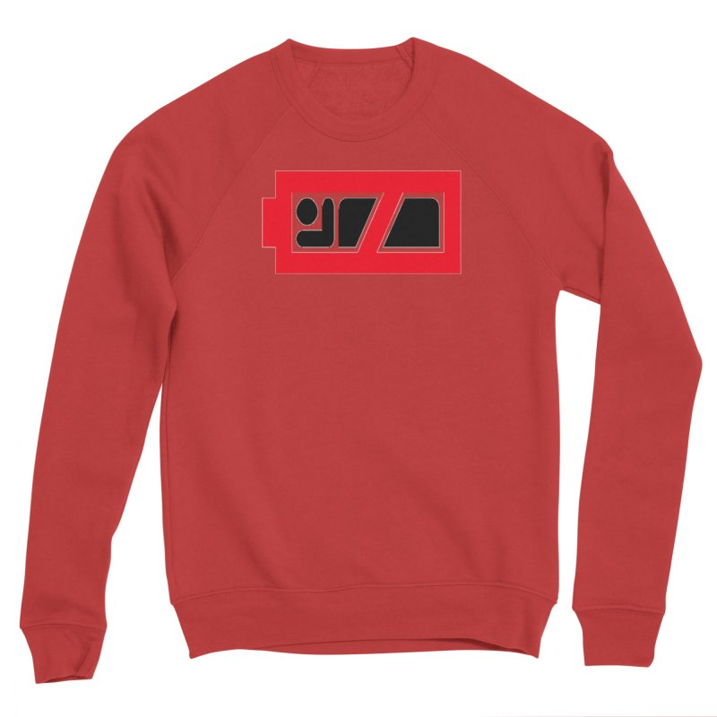 No Sleep Battery Men's Sponge Fleece Sweatshirt by Chicago Music's Apparel and Retail Shop