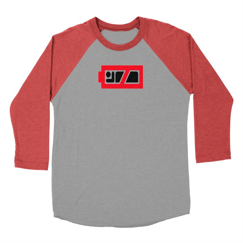 No Sleep Battery Women's Baseball Triblend Longsleeve T-Shirt by Chicago Music's Apparel and Retail Shop