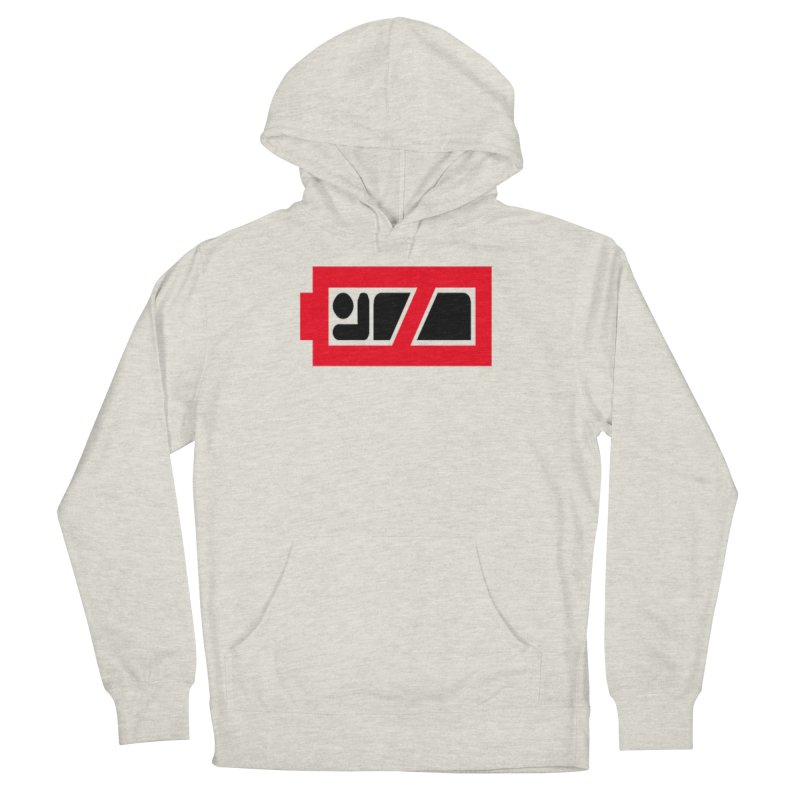 No Sleep Battery Men's French Terry Pullover Hoody by Chicago Music's Apparel and Retail Shop