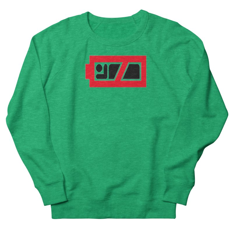 No Sleep Battery Women's Sweatshirt by Chicago Music's Apparel and Retail Shop