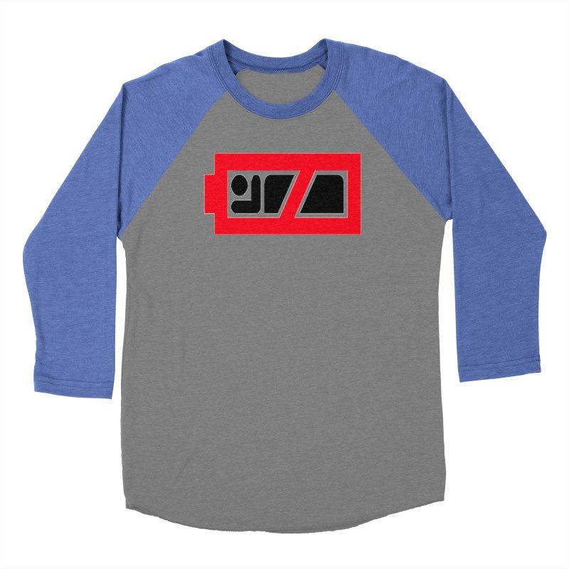 No Sleep Battery Women's Baseball Triblend Longsleeve T-Shirt by Chicago Music's Apparel and Retail Shop