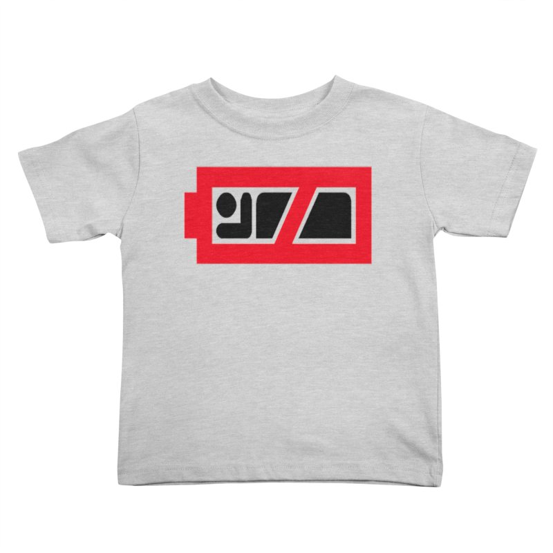 No Sleep Battery Kids Toddler T-Shirt by Chicago Music's Apparel and Retail Shop