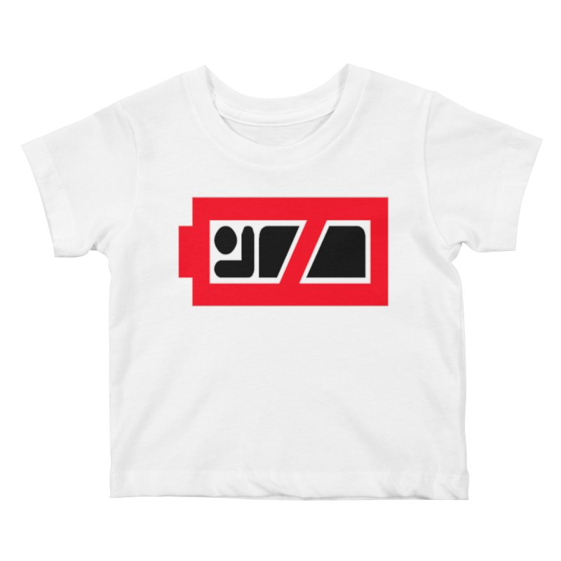 No Sleep Battery Kids Baby T-Shirt by Chicago Music's Apparel and Retail Shop