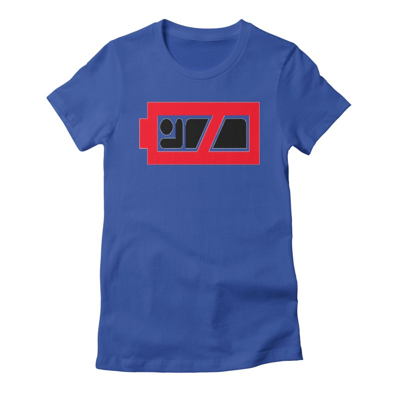 No Sleep Battery Women's T-Shirt by Chicago Music's Apparel and Retail Shop