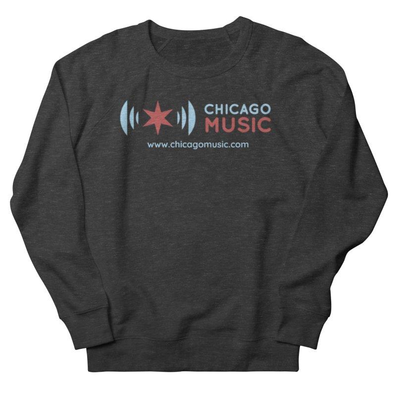 Chicago Music Logo Website Men's Sweatshirt by Chicago Music's Artist Shop