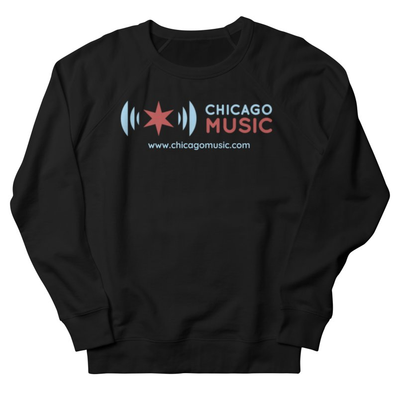 Chicago Music Logo Website Men's Sweatshirt by Chicago Music's Apparel and Retail Shop