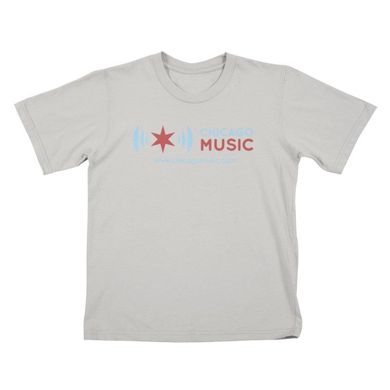 Chicago Music Logo Website Kids T-Shirt by Chicago Music's Artist Shop