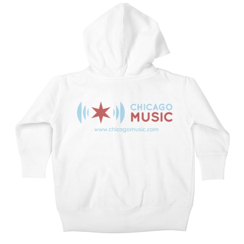 Chicago Music Logo Website Kids Baby Zip-Up Hoody by Chicago Music's Apparel and Retail Shop