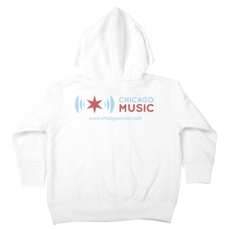 Chicago Music Logo Website Kids Toddler Zip-Up Hoody by Chicago Music's Apparel and Retail Shop