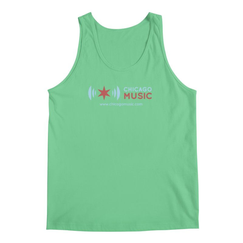 Chicago Music Logo Website Men's Regular Tank by Chicago Music's Apparel and Retail Shop