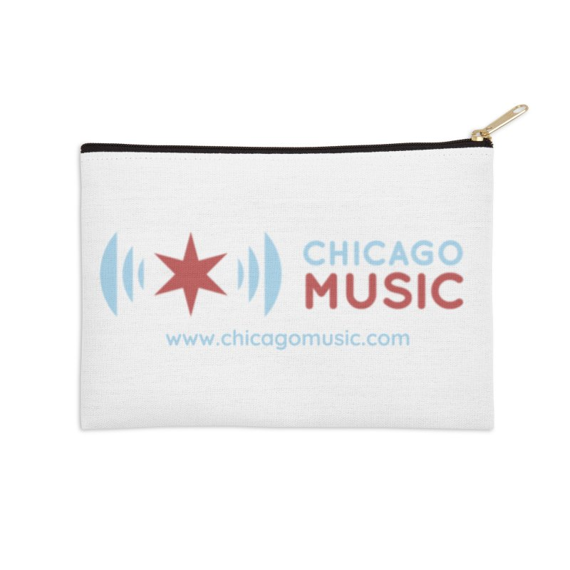 Chicago Music Logo Website Accessories Zip Pouch by Chicago Music's Apparel and Retail Shop
