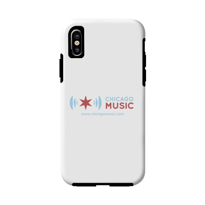 Chicago Music Logo Website Accessories Phone Case by Chicago Music's Apparel and Retail Shop