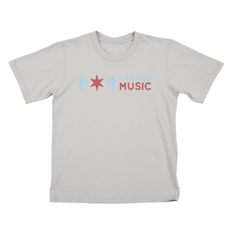 Chicago Music Logo Stacked Kids T-Shirt by Chicago Music's Artist Shop