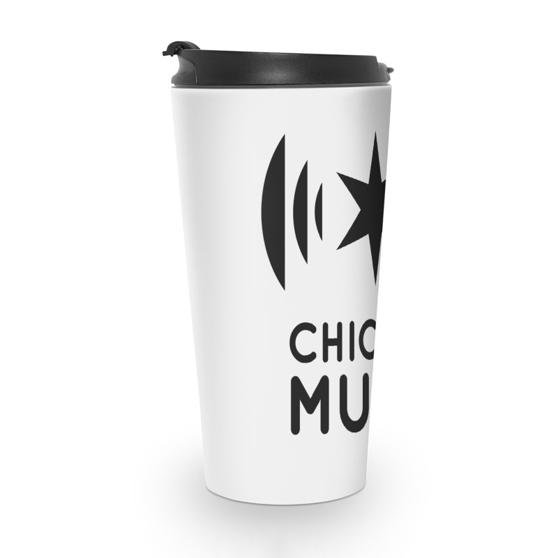 Chicago Music Logo Black Accessories Mug by Chicago Music's Apparel and Retail Shop