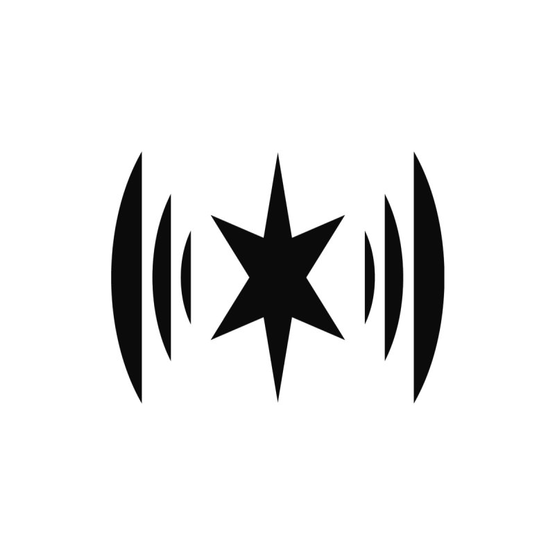 Chicago Music Black Logo None  by Chicago Music's Apparel and Retail Shop