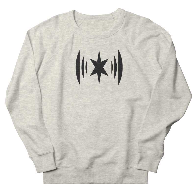 Chicago Music Black Logo Men's Sweatshirt by Chicago Music's Apparel and Retail Shop