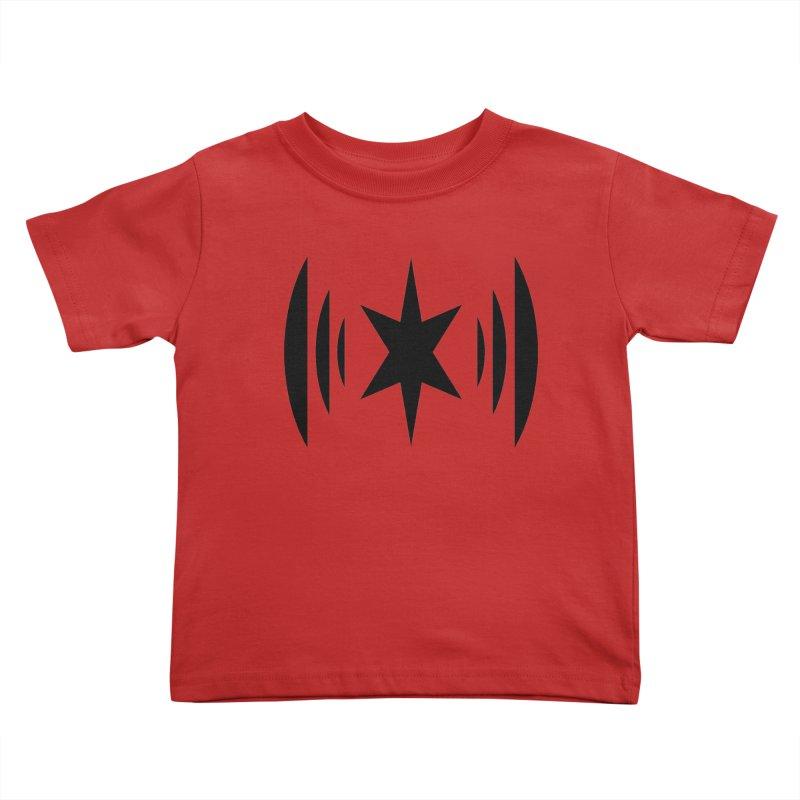 Chicago Music Black Logo Kids Toddler T-Shirt by Chicago Music's Artist Shop
