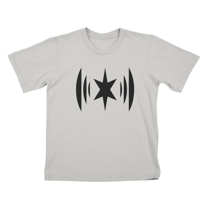 Chicago Music Black Logo Kids T-Shirt by Chicago Music's Apparel and Retail Shop