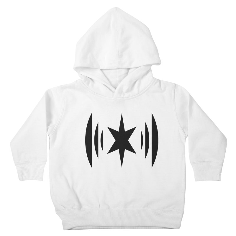 Chicago Music Black Logo Kids Toddler Pullover Hoody by Chicago Music's Apparel and Retail Shop
