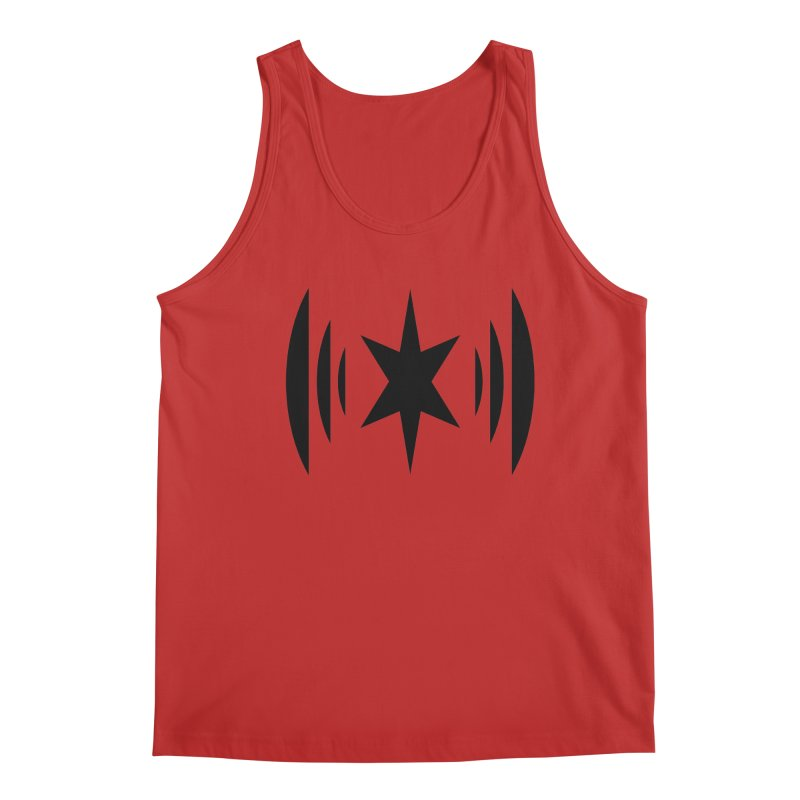 Chicago Music Black Logo Men's Regular Tank by Chicago Music's Apparel and Retail Shop
