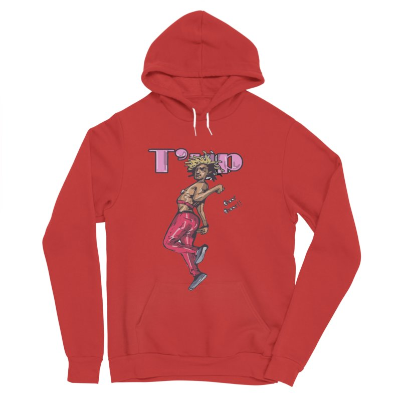 T' Up Shoot Shoot!! Men's Sponge Fleece Pullover Hoody by Chicago Music's Apparel and Retail Shop
