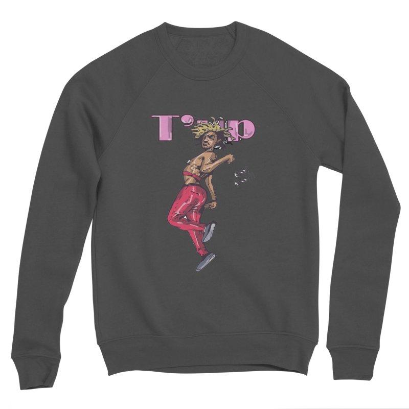 T' Up Shoot Shoot!! Men's Sponge Fleece Sweatshirt by Chicago Music's Apparel and Retail Shop
