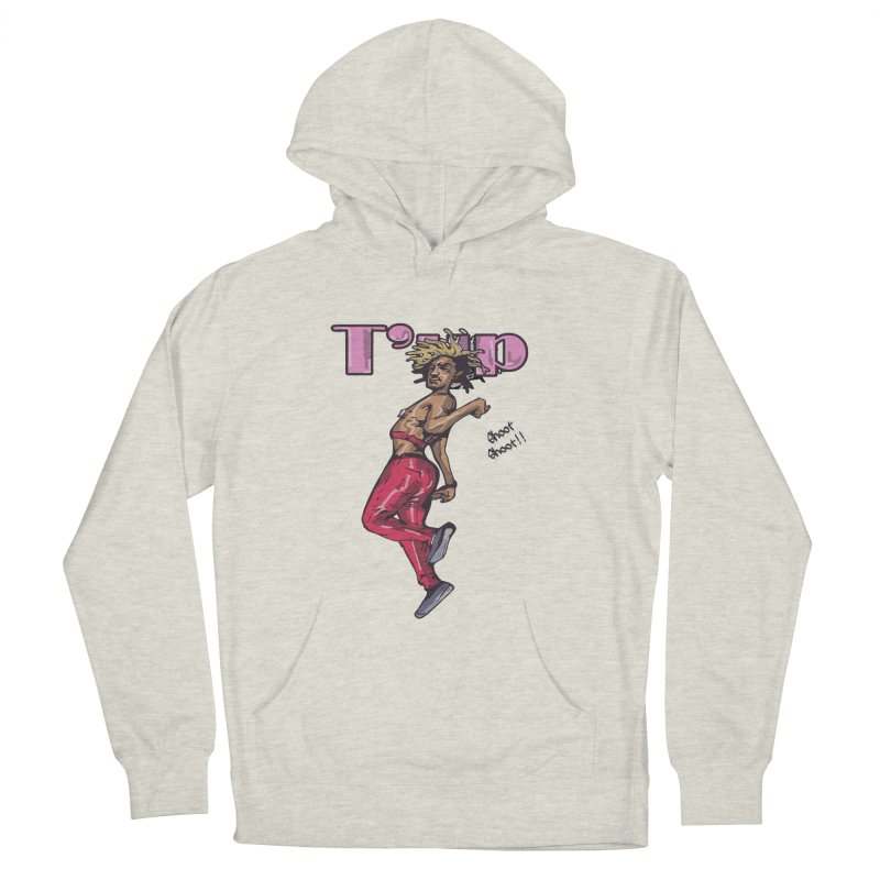 T' Up Shoot Shoot!! Women's French Terry Pullover Hoody by Chicago Music's Apparel and Retail Shop