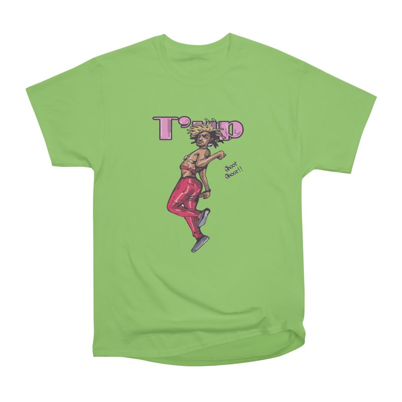 T' Up Shoot Shoot!! Women's Heavyweight Unisex T-Shirt by Chicago Music's Apparel and Retail Shop