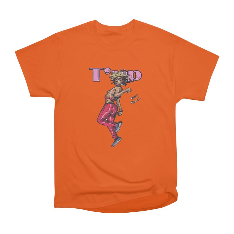 T' Up Shoot Shoot!! Women's T-Shirt by Chicago Music's Apparel and Retail Shop