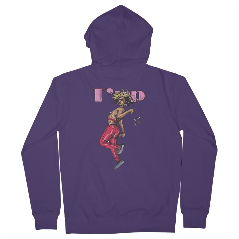 T' Up Shoot Shoot!! Women's Zip-Up Hoody by Chicago Music's Apparel and Retail Shop
