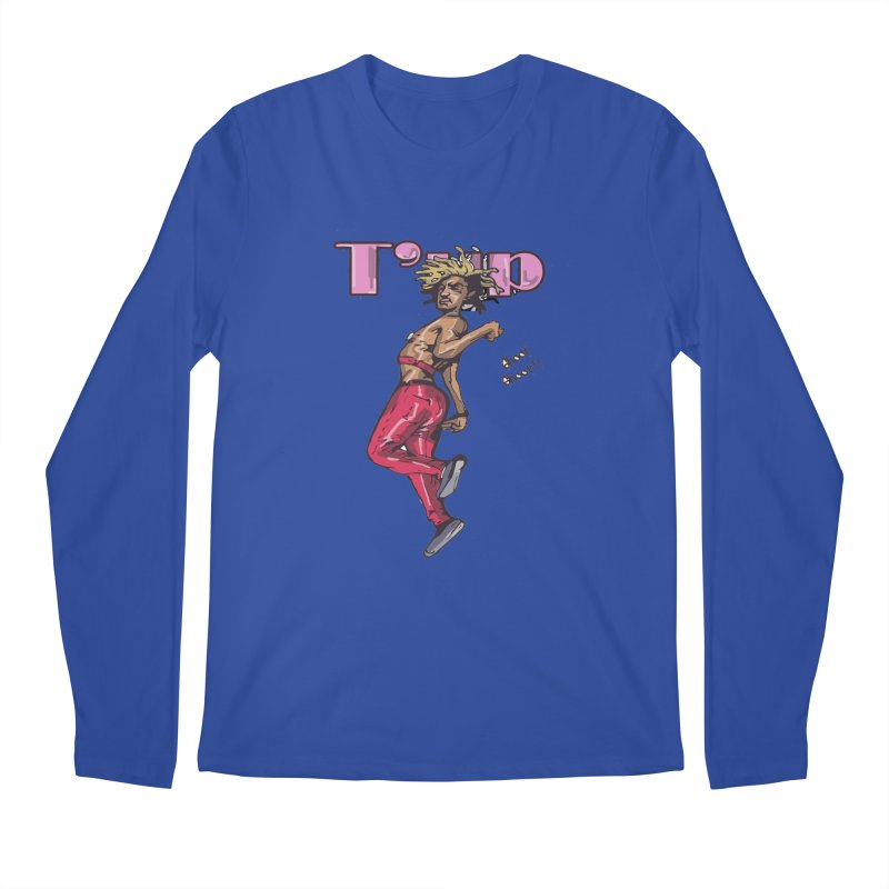 T' Up Shoot Shoot!! Men's Regular Longsleeve T-Shirt by Chicago Music's Apparel and Retail Shop
