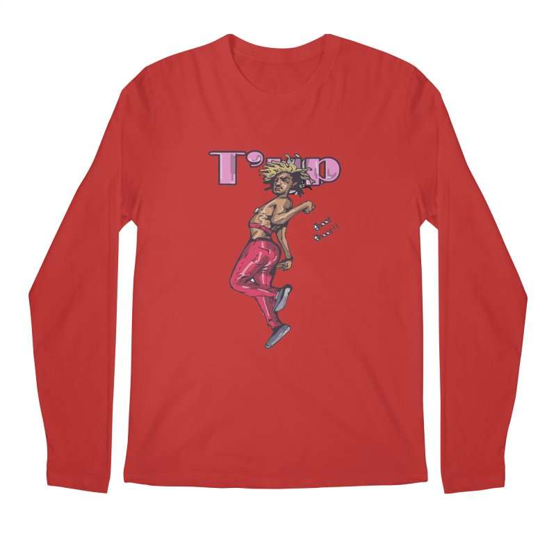 T' Up Shoot Shoot!! Men's Regular Longsleeve T-Shirt by Chicago Music's Apparel and Retail Shop