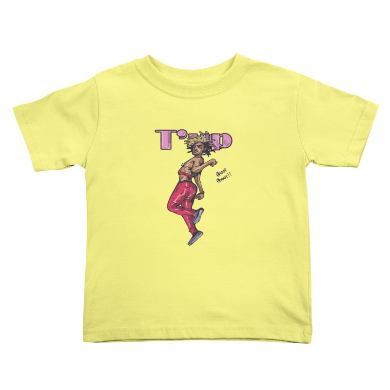 T' Up Shoot Shoot!! Kids Toddler T-Shirt by Chicago Music's Apparel and Retail Shop