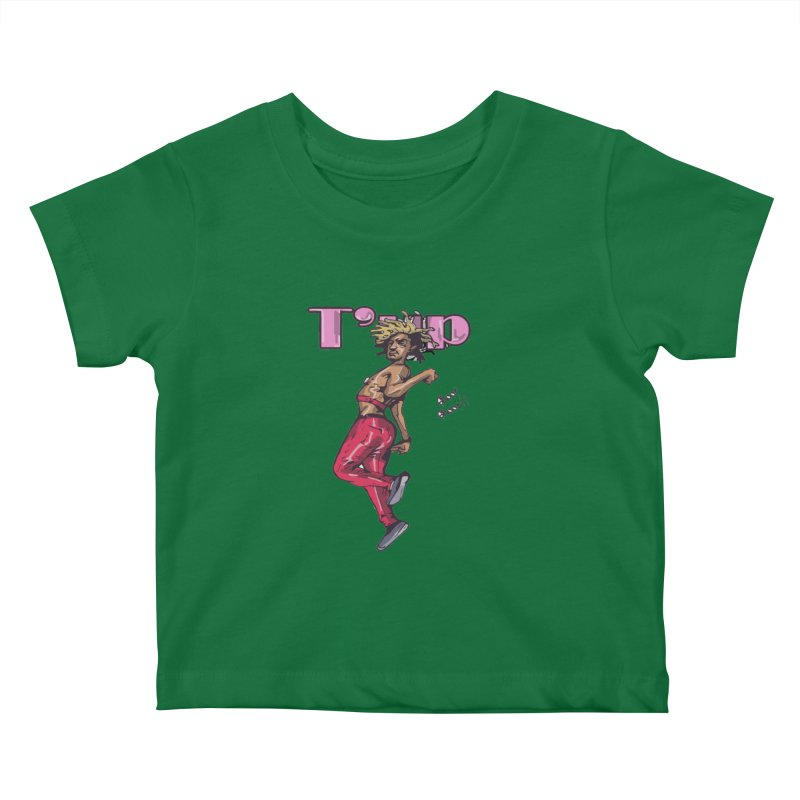 T' Up Shoot Shoot!! Kids Baby T-Shirt by Chicago Music's Apparel and Retail Shop