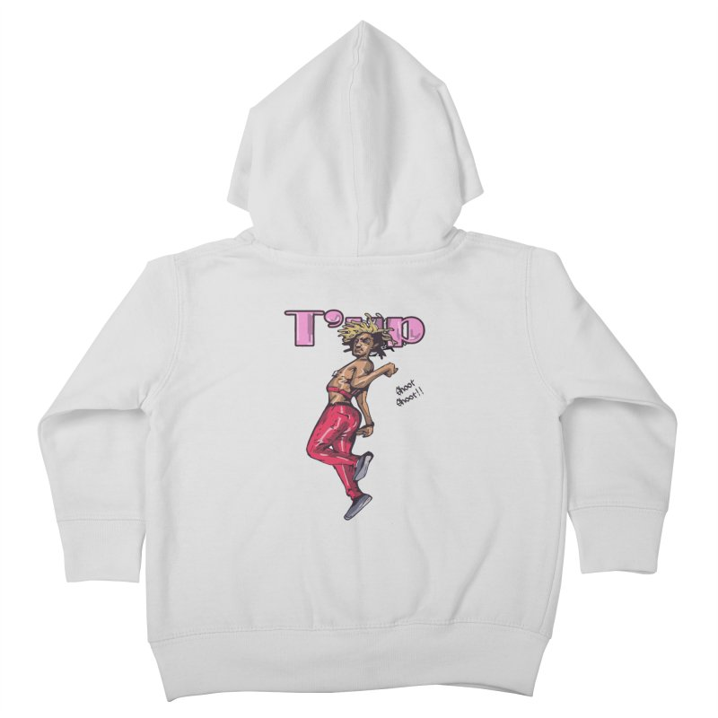 T' Up Shoot Shoot!! Kids Toddler Zip-Up Hoody by Chicago Music's Apparel and Retail Shop