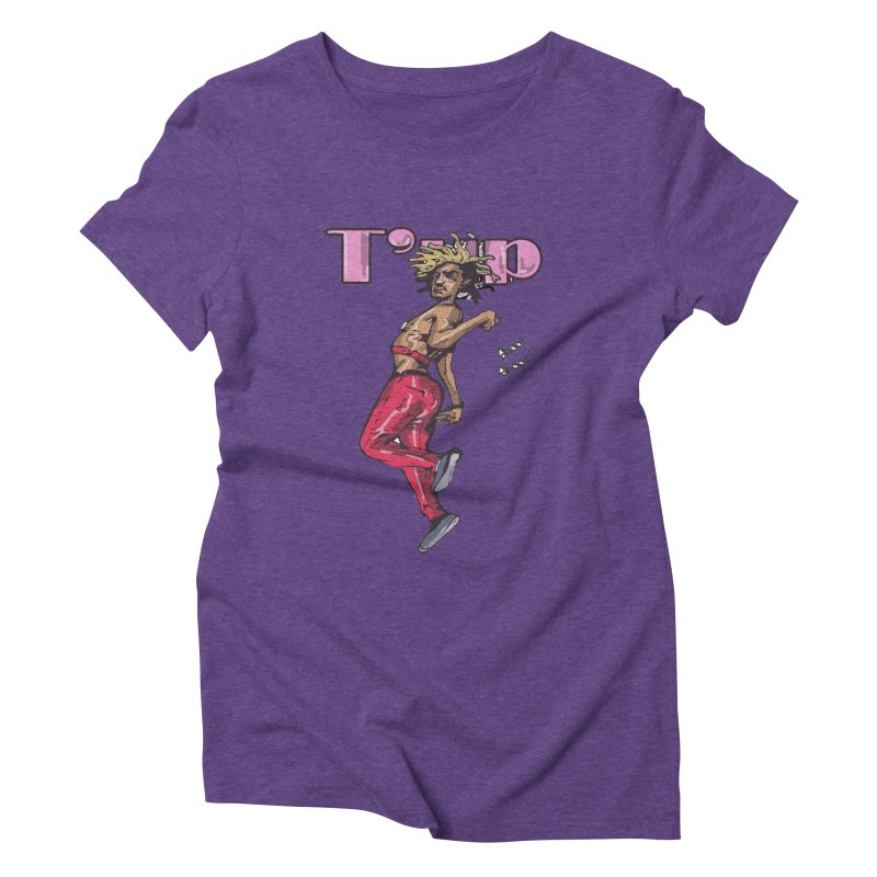 T' Up Shoot Shoot!! Women's Triblend T-Shirt by Chicago Music's Apparel and Retail Shop