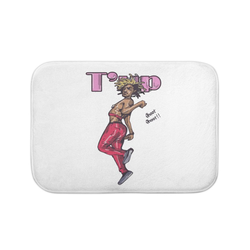 T' Up Shoot Shoot!! Home Bath Mat by Chicago Music's Apparel and Retail Shop