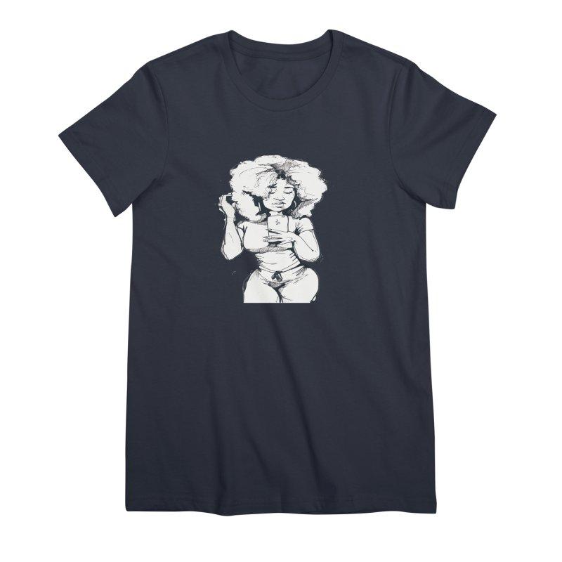 Lil Debbie Women's Premium T-Shirt by Chicago Music's Apparel and Retail Shop