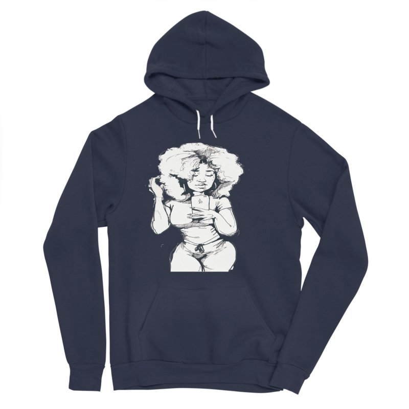 Lil Debbie Women's Sponge Fleece Pullover Hoody by Chicago Music's Apparel and Retail Shop