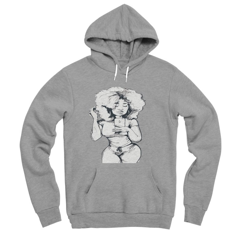 Lil Debbie Men's Sponge Fleece Pullover Hoody by Chicago Music's Apparel and Retail Shop