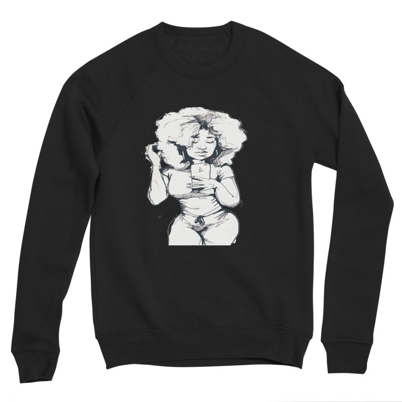 Lil Debbie Men's Sponge Fleece Sweatshirt by Chicago Music's Apparel and Retail Shop