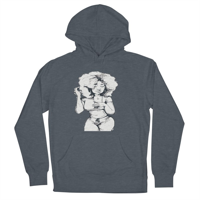 Lil Debbie Women's French Terry Pullover Hoody by Chicago Music's Apparel and Retail Shop