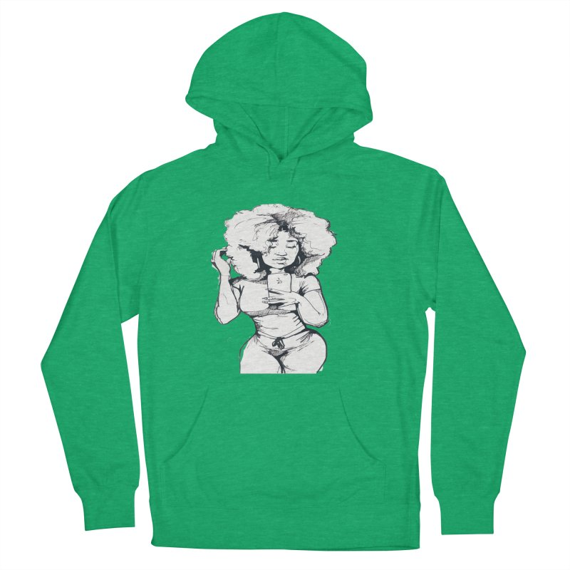 Lil Debbie Men's French Terry Pullover Hoody by Chicago Music's Apparel and Retail Shop