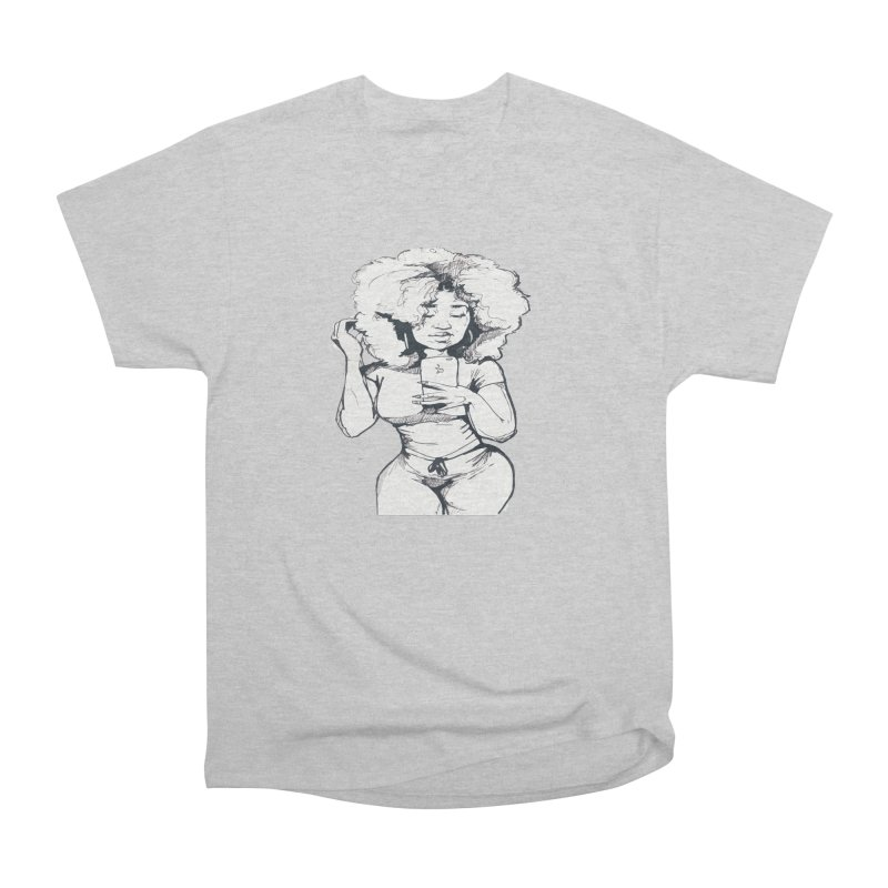 Lil Debbie Women's Heavyweight Unisex T-Shirt by Chicago Music's Apparel and Retail Shop