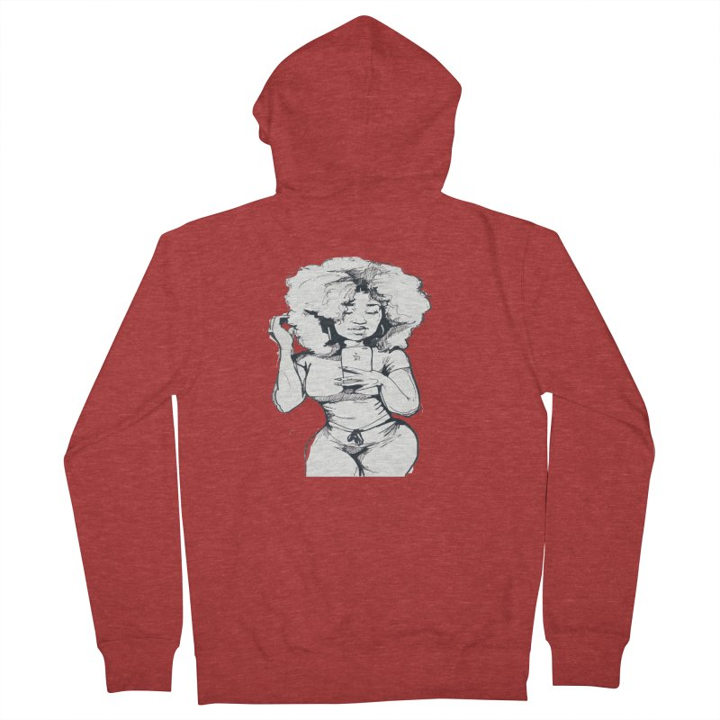 Lil Debbie Women's Zip-Up Hoody by Chicago Music's Apparel and Retail Shop